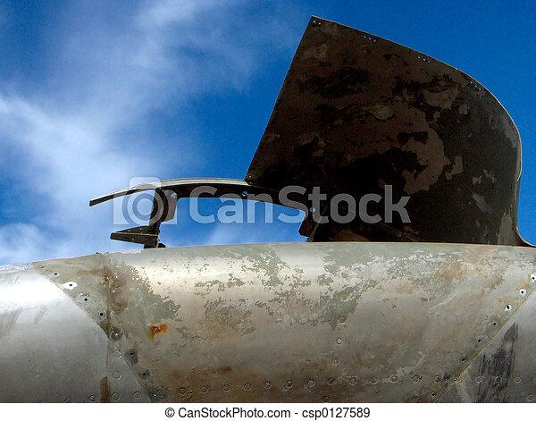 scrap aeroplane - csp0127589