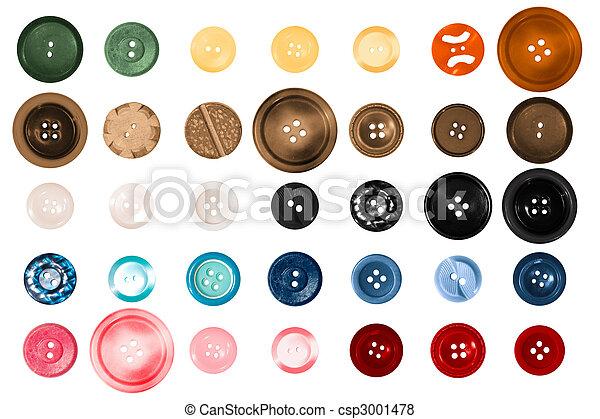Scrap Booking Buttons - csp3001478