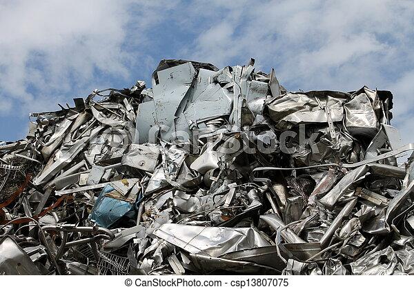 scrap metal - csp13807075