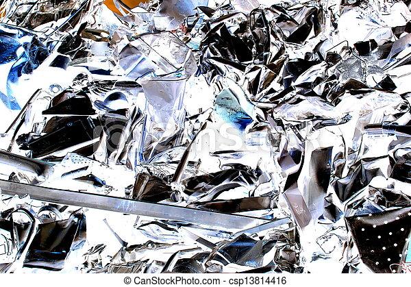 scrap metal - csp13814416