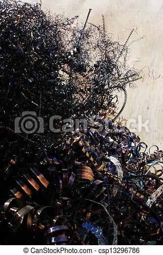 scrap metal - csp13296786