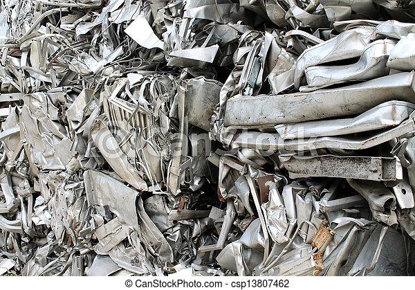 scrap metal - csp13807462
