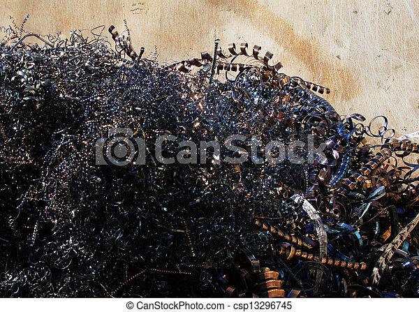 scrap metal - csp13296745