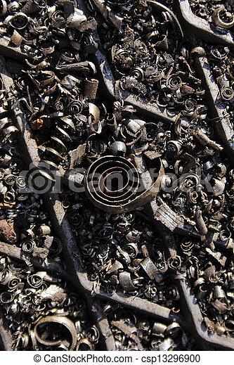scrap metal - csp13296900