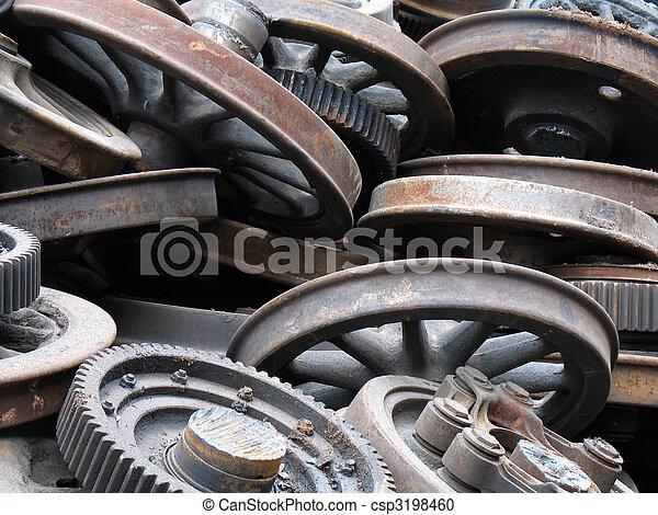 scrap metal - csp3198460