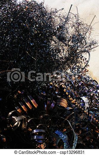 scrap metal - csp13296831
