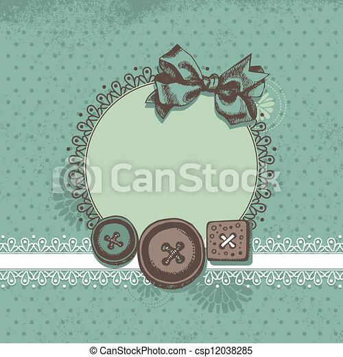 Scrapbook background - csp12038285