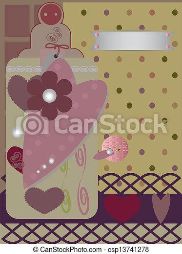 scrapbooking card - csp13741278