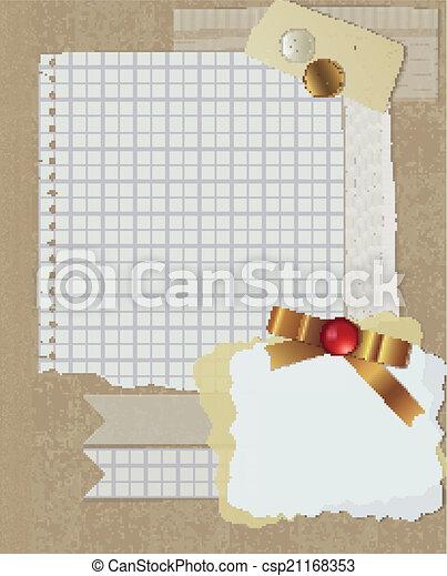 scrapbooking, conception, noël - csp21168353