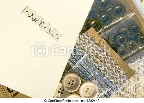 Scrapbooking craft - csp4232442
