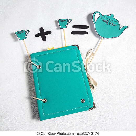 scrapbooking, festive accessories - csp33740174