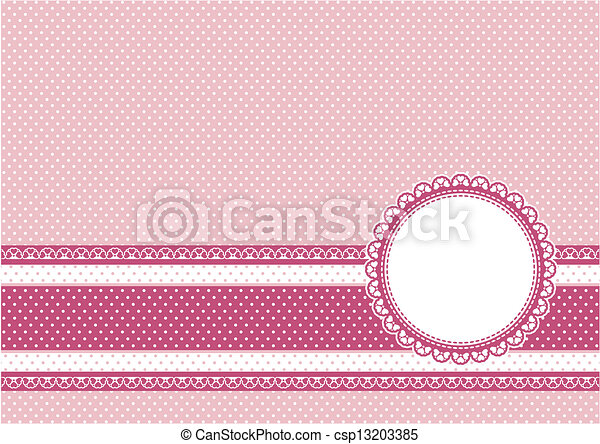 scrapbooking for girl background - csp13203385