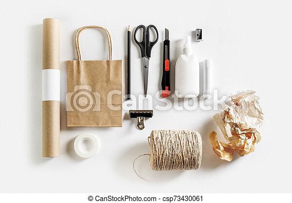 Scrapbooking materials and tools - csp73430061