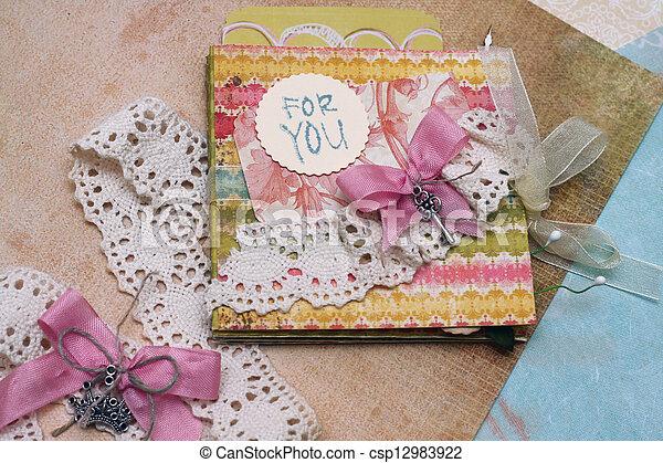 scrapbooking - csp12983922