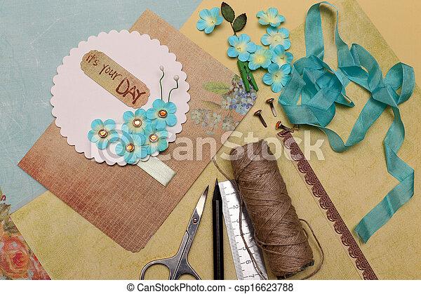 Libros de recortes - csp16623788