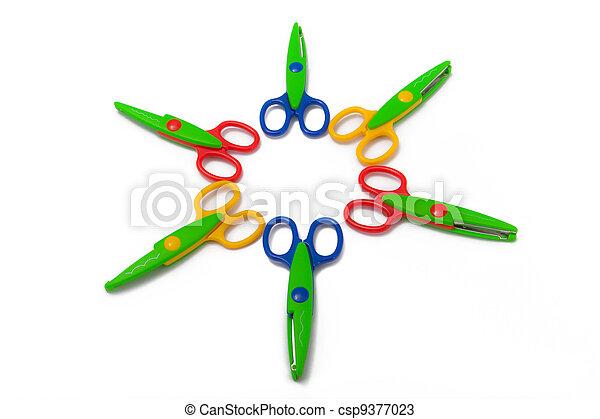 Scrapbooking Scissors - csp9377023