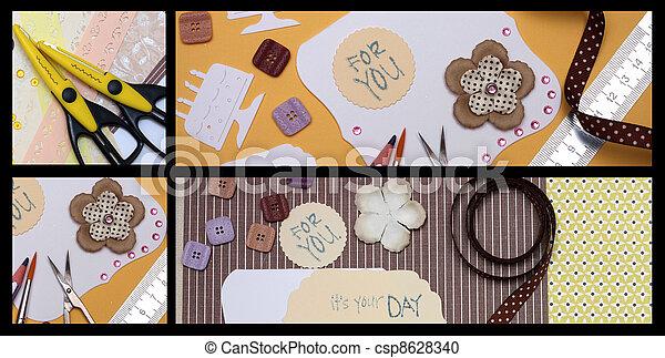 scrapbooking - csp8628340