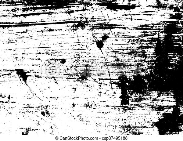 Scratched texture overlay  Vector background