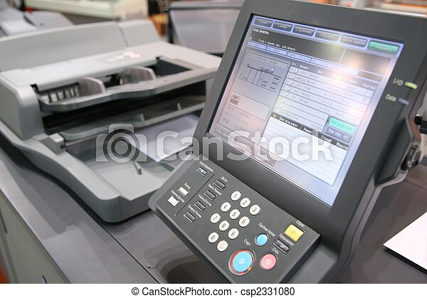 screen of printed equipment - csp2331080