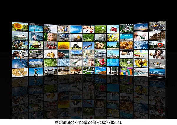 Screens multimedia panel - csp7782046