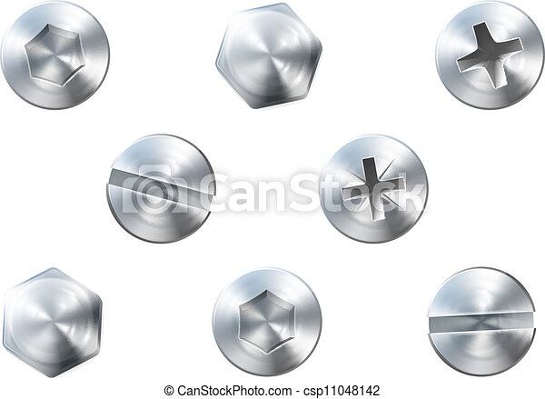 Screws and bolts - csp11048142