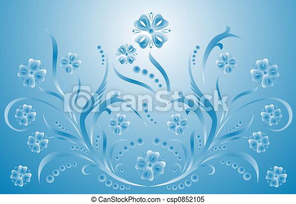 Scroll, cartouche, decor, vector illustration   - csp0852105