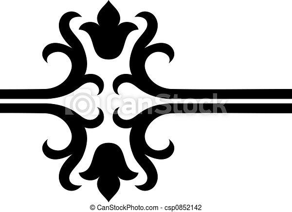 scroll design - csp0852142