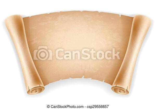 Scroll paper - csp29556657