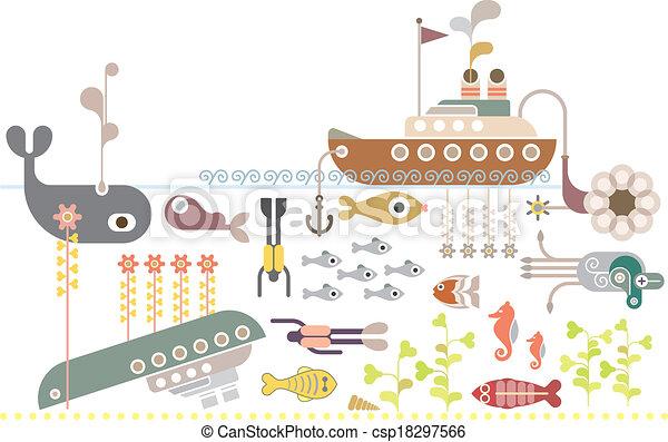 Scuba Diving - csp18297566