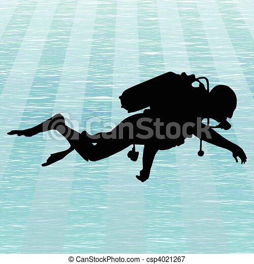 Scuba diving - csp4021267