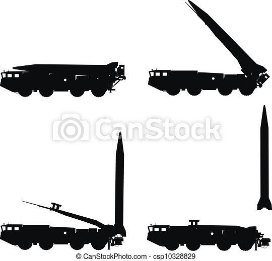 Scud launcher - csp10328829