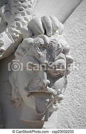 Sculpture of Demon - csp23032233