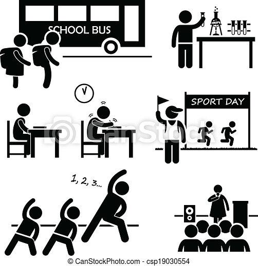 scuola, evento, studente, attività - csp19030554