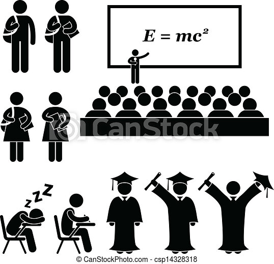 scuola, università, studente università - csp14328318