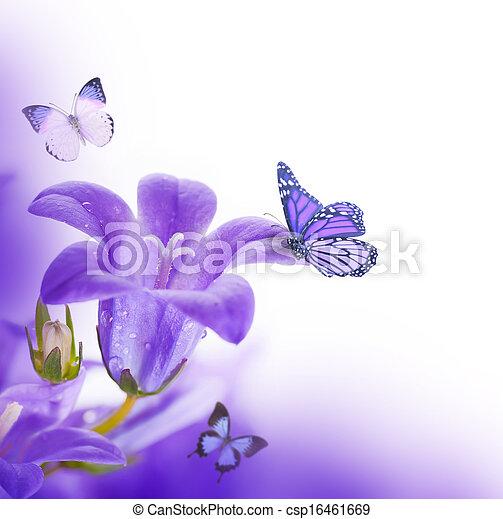 Scuro Sfondo Bianco Fiori Immagine Darchivio Csp16461669