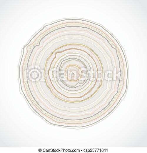 seção, árvore toca, tronco, madeira, madeira, isolado, textura, toco, vetorial, crucifixos, experiência., branca - csp25771841