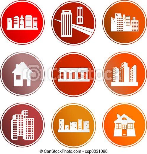Los símbolos de la arquitectura - csp0831098