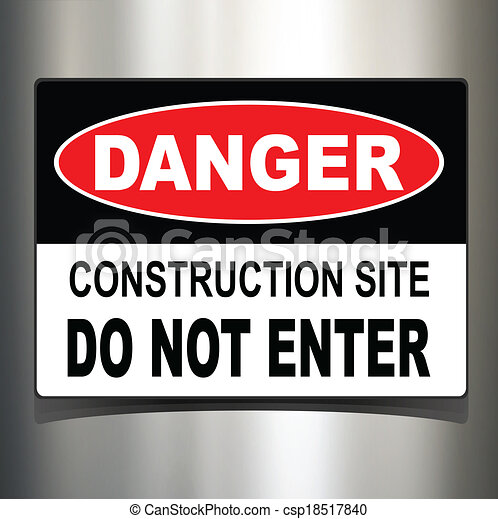 Señal de peligro - csp18517840
