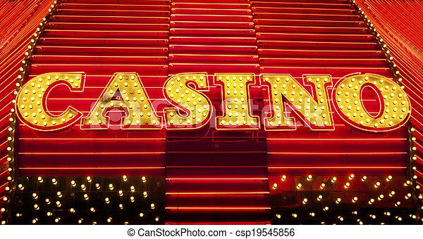 Señal de casino - csp19545856