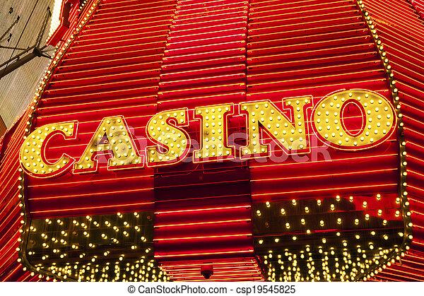 Señal de casino - csp19545825