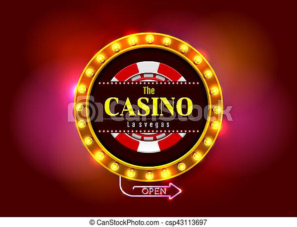 Señal de casino - csp43113697