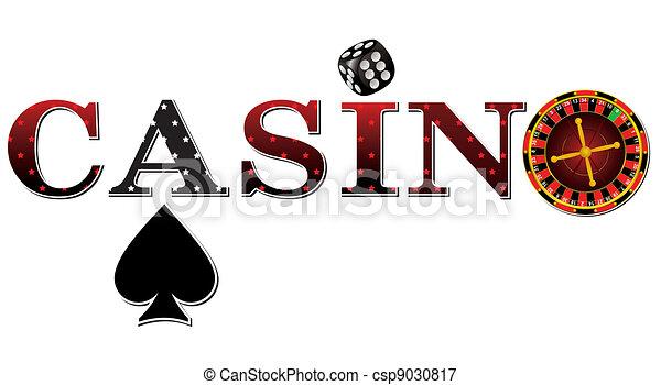Un signo de casino - csp9030817