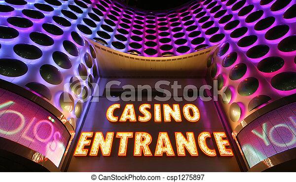 Un signo de casino - csp1275897