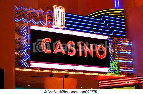 Un signo de casino - csp2707751