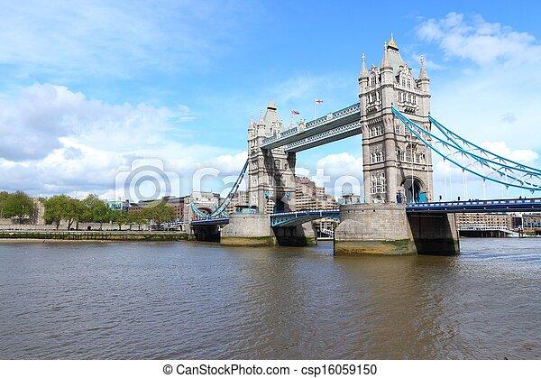 Un punto de referencia de Londres - csp16059150