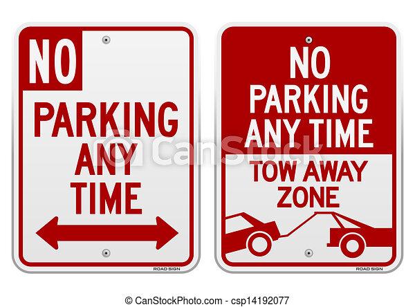 No hay señal de estacionamiento - csp14192077