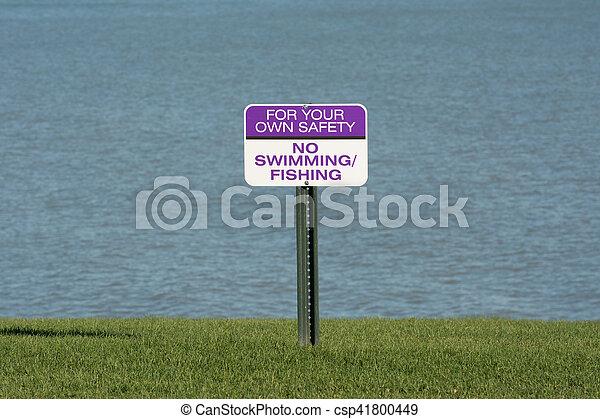 No hay señal de natación - csp41800449