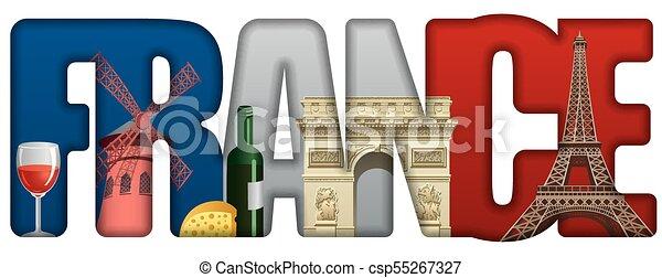 La inscripción en Francia con puntos de referencia - csp55267327