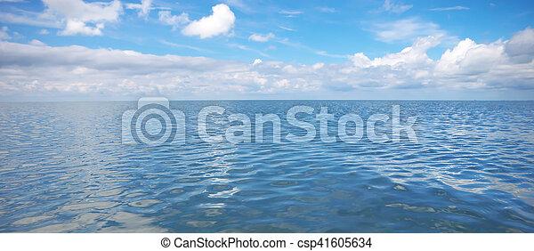 Sea and sky. - csp41605634