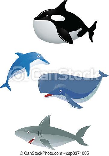 Sea animal - csp8371005